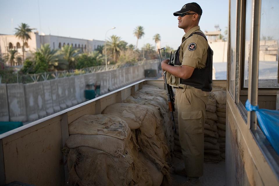 static security guard  erbil iraq  security